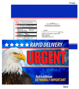 6 X 9 Urgent Delivery with Eagle