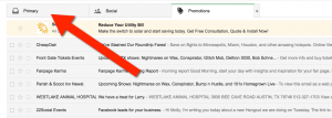 how to whitelist emails