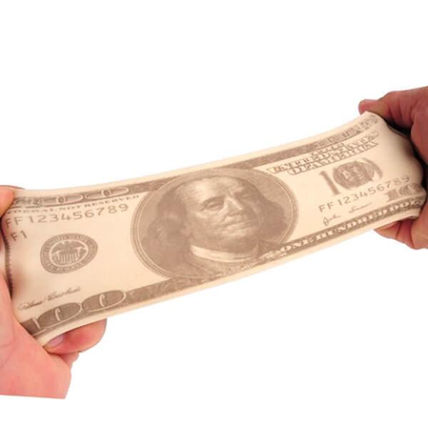 Stretchy $100 Bill