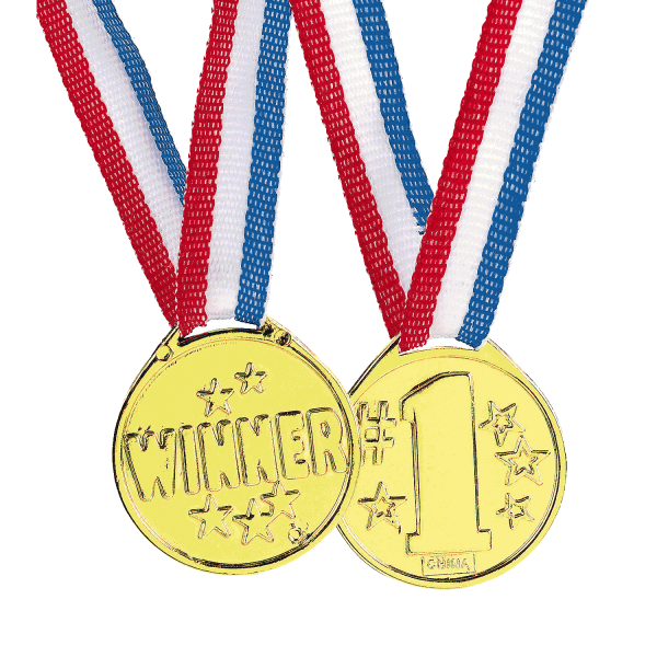 "Olympic ""Winner"" Gold Medal"