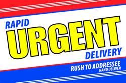 Rapid Urgent Deliver 6x9
