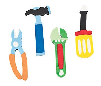 Tool Shaped Erasers